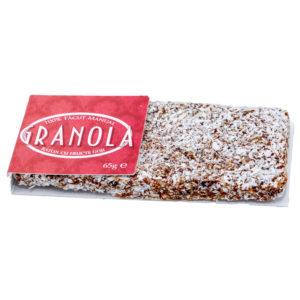 Raw Granola Goji Bar