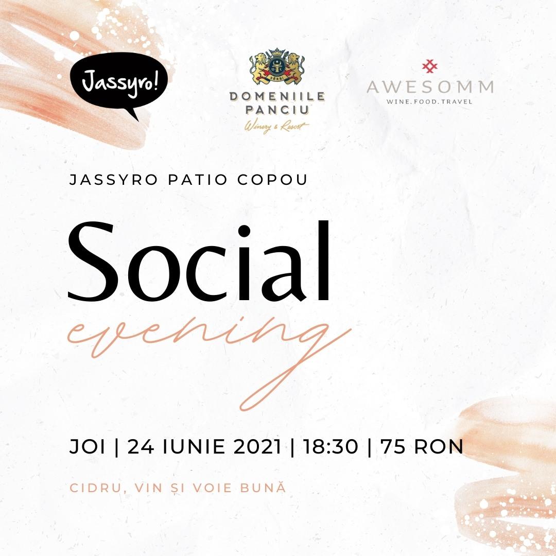 Jassyro Social Evening #4 - Domeniile Panciu